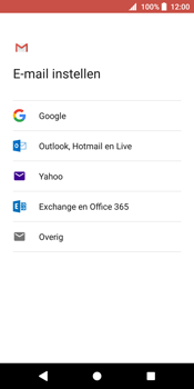 Sony Xperia XZ2 - E-mail - Handmatig instellen (gmail) - Stap 8