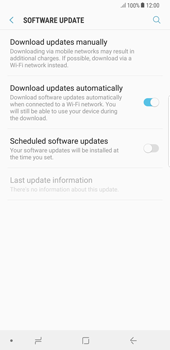 Samsung Galaxy S8 Plus - Android Oreo - Device - Software update - Step 6