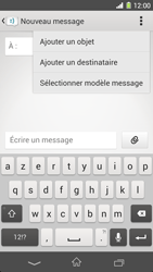 Sony Xpéria Z1 - Contact, Appels, SMS/MMS - Envoyer un MMS - Étape 6