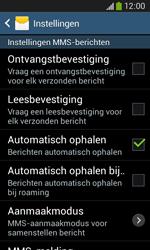 Samsung S7275 Galaxy Ace III - MMS - probleem met ontvangen - Stap 8