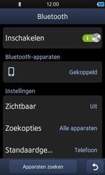 Samsung S8600 Wave 3 - Bluetooth - koppelen met ander apparaat - Stap 11
