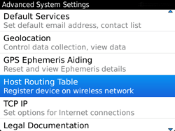 BlackBerry 9720 Bold - Settings - Configuration message received - Step 6