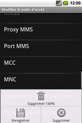 Samsung I7500 Galaxy - MMS - Configuration manuelle - Étape 12