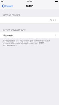Apple iPhone 6s Plus - iOS 12 - E-mail - Configuration manuelle - Étape 23