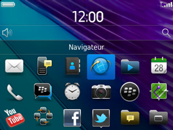 BlackBerry 9790 Bold - Internet - Navigation sur internet - Étape 2