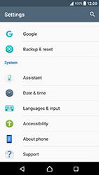 Sony Xperia XA1 - Network - Installing software updates - Step 5