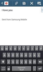 Samsung Galaxy Trend Plus S7580 - Email - Sending an email message - Step 10