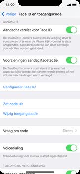 Apple iPhone X - Beveiliging en ouderlijk toezicht - Toegangscode uitschakelen - Stap 5