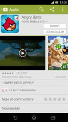 Sony Xpéria Z - Applications - Télécharger une application - Étape 19