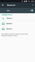 Doro 8035 - Bluetooth - Pair with another device - Step 7