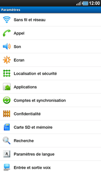 Samsung P1000 Galaxy Tab - MMS - Configuration manuelle - Étape 4