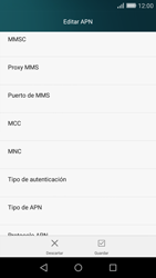 Huawei P8 Lite - Mensajería - Configurar el equipo para mensajes multimedia - Paso 11