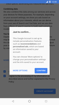 Nokia 8 Sirocco - Applications - Create an account - Step 17