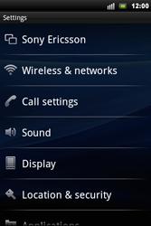 Sony Ericsson Xperia Mini Pro - Mms - Manual configuration - Step 4