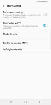 Samsung Galaxy Note 8 - Android Oreo - Internet no telemóvel - Como configurar ligação à internet -  8