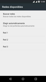 Motorola Moto X Play - Red - Seleccionar una red - Paso 9