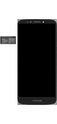 Motorola Moto E5 - Primeiros passos - Como inserir o chip da Nextel no seu celular - Etapa 3