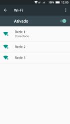 Lenovo Vibe C2 - Wi-Fi - Como configurar uma rede wi fi - Etapa 8