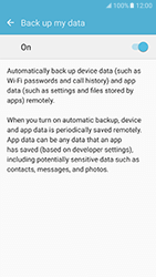 Samsung Galaxy S7 (G930) - Device maintenance - Create a backup of your data - Step 7