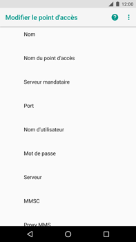Huawei Nexus 6P - Android Oreo - MMS - Configuration manuelle - Étape 8