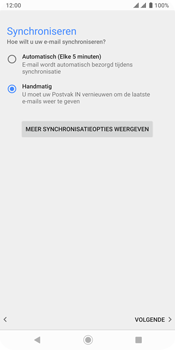 Sony xperia-xz3-dual-sim-model-h9436 - E-mail - Account instellen (POP3 met SMTP-verificatie) - Stap 20