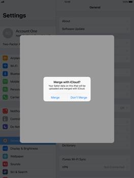 Apple Apple iPad Pro 9.7 - iOS 11 - Device maintenance - Create a backup of your data - Step 8