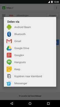 Google Nexus 6 - Internet - hoe te internetten - Stap 18