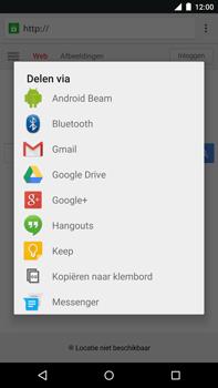 Motorola Nexus 6 - Internet - Hoe te internetten - Stap 19