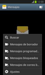 Samsung i8260 Galaxy Core - Mensajería - Configurar el equipo para mensajes de texto - Paso 5
