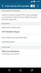 HTC One M9 - Internet et connexion - Partager votre connexion en Wi-Fi - Étape 12