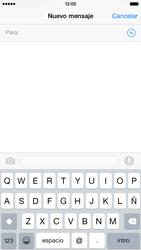 Apple iPhone 6 iOS 8 - Mensajería - Escribir y enviar un mensaje multimedia - Paso 4