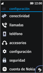 Nokia Asha 311 - Mensajería - Configurar el equipo para mensajes multimedia - Paso 3