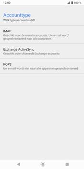 Sony Xperia XZ3 - E-mail - e-mail instellen: IMAP (aanbevolen) - Stap 10