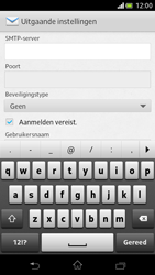 Sony LT30p Xperia T - E-mail - Handmatig instellen - Stap 10