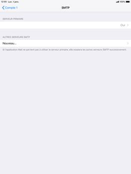 Apple iPad Air iOS 12 - E-mail - Configurer l