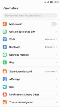 Huawei Mate 9 Pro - Wi-Fi - Se connecter à un réseau Wi-Fi - Étape 3