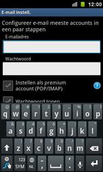 Samsung I9100 Galaxy S II - E-mail - e-mail instellen: IMAP (aanbevolen) - Stap 5