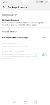 Huawei Mate 20 - Data - Maak een back-up met je account - Stap 5