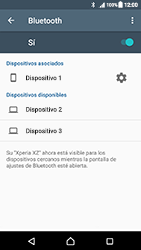Sony Xperia XZ (F8331) - Bluetooth - Conectar dispositivos a través de Bluetooth - Paso 8