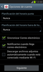 Samsung Galaxy S3 Mini - E-mail - Configurar Yahoo! - Paso 7