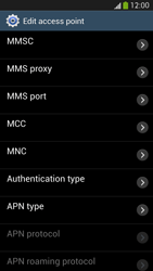 Samsung I9505 Galaxy S IV LTE - MMS - Manual configuration - Step 12