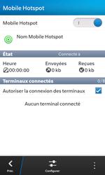BlackBerry Z10 - Internet et connexion - Partager votre connexion en Wi-Fi - Étape 14
