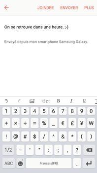 Samsung Samsung Galaxy J7 (2016) - E-mails - Envoyer un e-mail - Étape 11