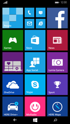 Microsoft Lumia 535 - Internet - Example mobile sites - Step 1