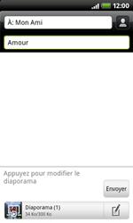 HTC A7272 Desire Z - MMS - envoi d'images - Étape 11