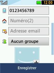LG T580 - Contact, Appels, SMS/MMS - Ajouter un contact - Étape 12