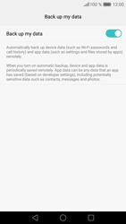 Huawei P9 - Device maintenance - Create a backup of your data - Step 8