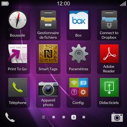 BlackBerry Q10 - Internet et connexion - Activer la 4G - Étape 3