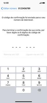 Apple iPhone X - iOS 12 - Aplicações - Como configurar o WhatsApp -  11
