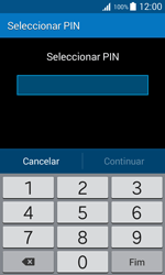 Samsung Galaxy Trend 2 Lite - Segurança - Como ativar o código de bloqueio do ecrã -  7